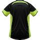 Blitz XpertDry T-Shirt in Black / Neon Yellow - Back