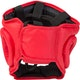 Club Full Contact Head Guard in Red - Rear