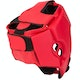 Club Semi Contact Head Guard in Red - Rear