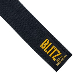 Blitz Deluxe Cotton Black Belt