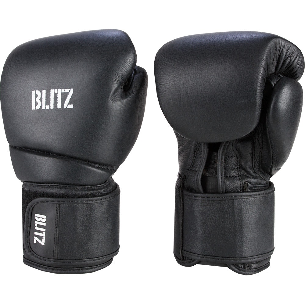 Head Multi Sport Gloves With Sensatec Black Large: Deluxe Leather Boxing Gloves