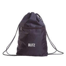 Drawstring Bag With Zip Pocket