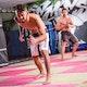 Dual Waist Resistance Trainer Pro - Lifestyle