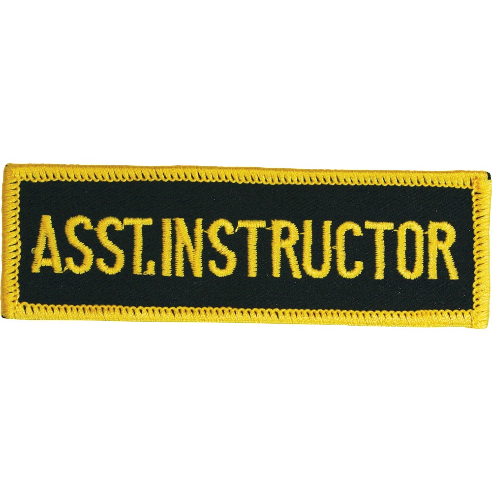 Embroidered Badge - Assistant Instructor (A54)