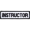 Embroidered Badge - Instructor (A40)