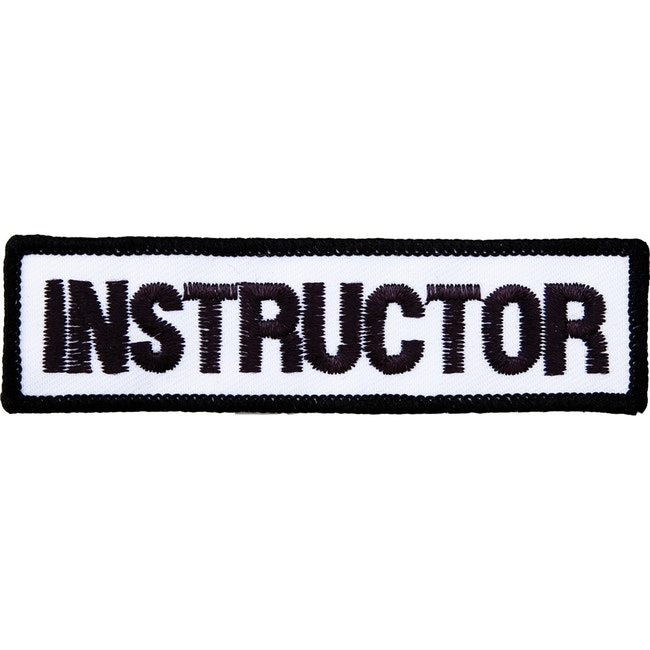 Blitz Embroidered Badge - Instructor (A40)