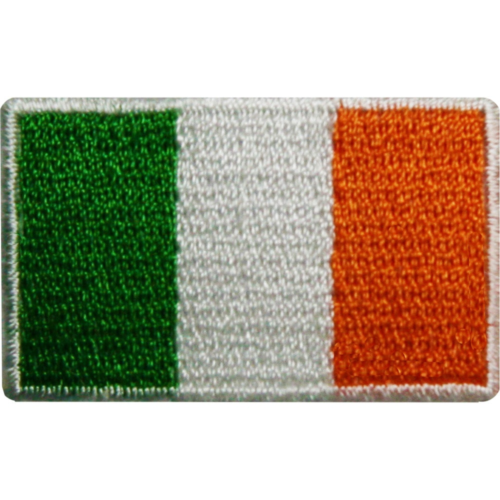 Embroidered Badge - Ireland Flag (A58)
