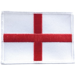 Embroidered Badge - St. Georges Flag (A55)