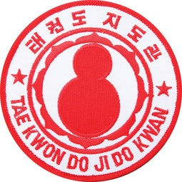 Embroidered Badge - Tae Kwon Do Ji Do Kwan (A6)