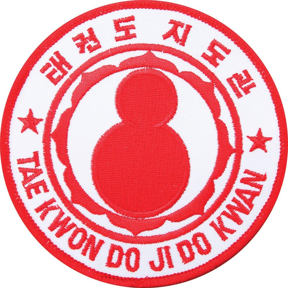 Embroidered Badge - Tae Kwon Do Ji Do Kwan (A6)