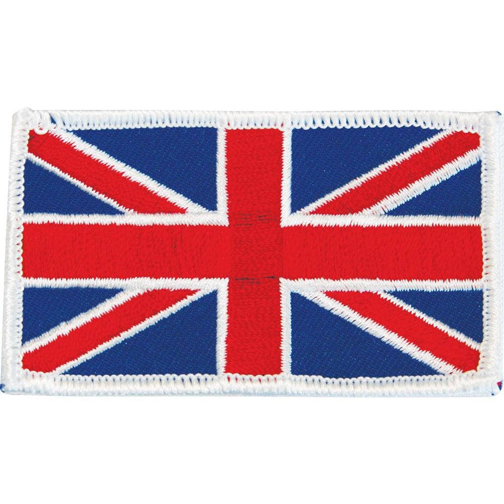 Embroidered Badge - Union Jack Flag (A52)