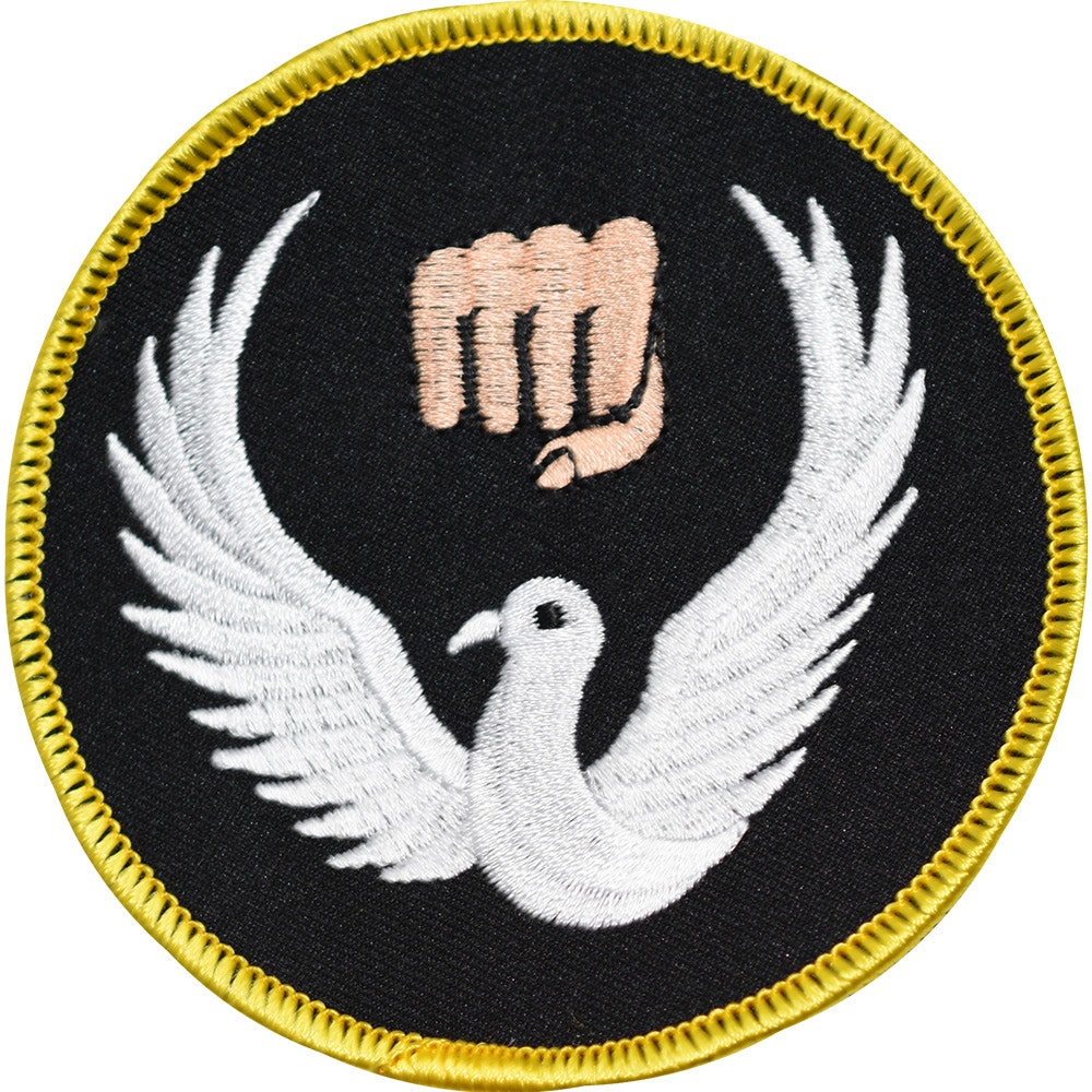 Embroidered Badge - Wado Ryu (A17)
