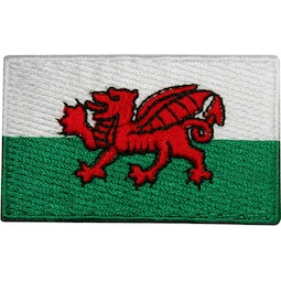 Embroidered Badge - Wales Flag (A60)