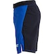 Falcon MMA Shorts in Blue - Side