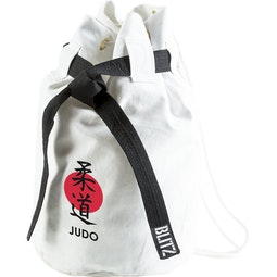 Blitz Judo Discipline Duffle Bag - White