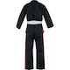 Junior Martial Arts Suit in Black / Red - Back