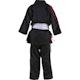 Junior Martial Arts Suit in Black / Red - Back