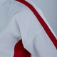 Junior Martial Arts Suit in White / Red - Detail 1