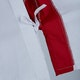 Junior Martial Arts Suit in White / Red - Detail 3