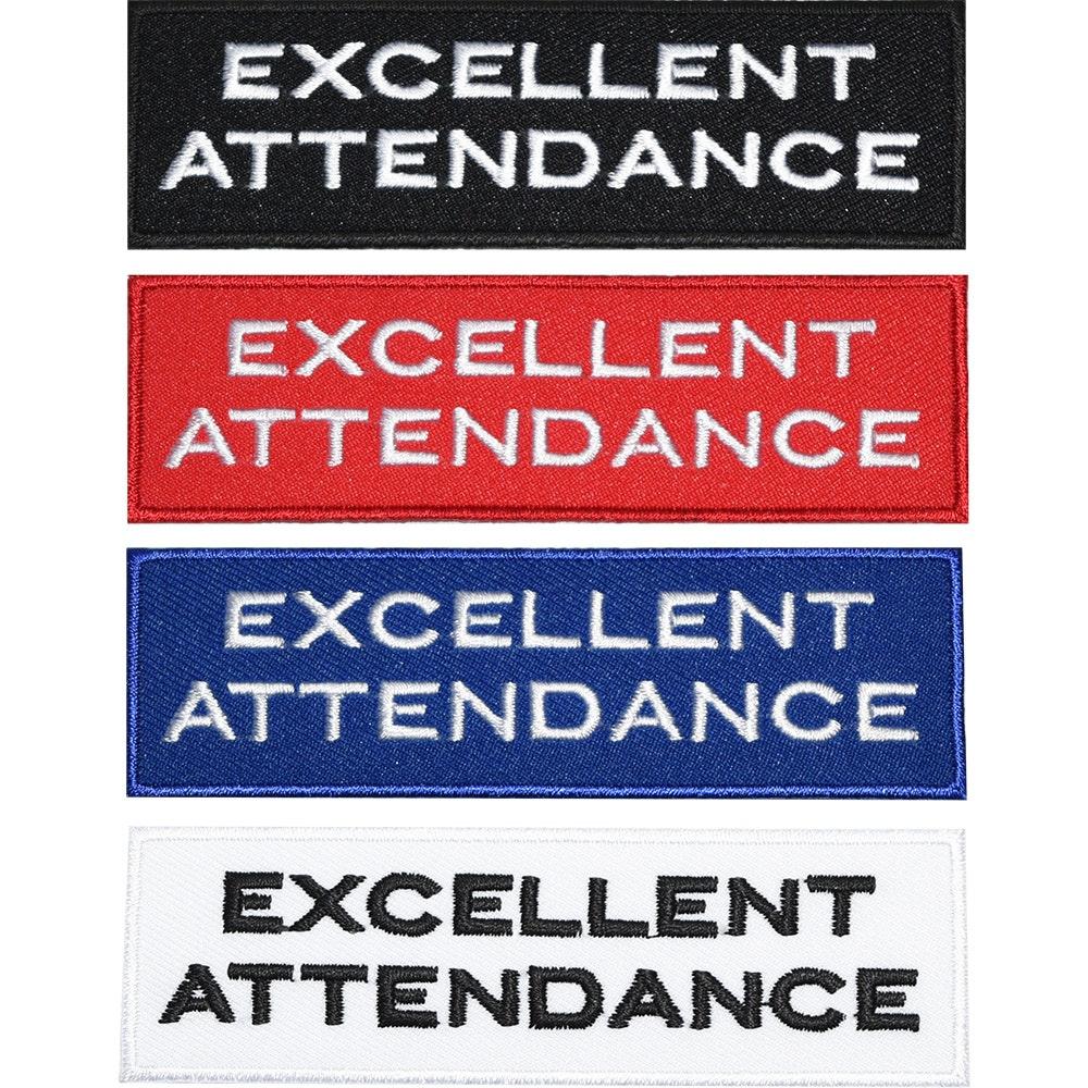 Junior Reward Badges - Excellent Attendance