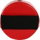 Junior Round Sound Effect Strike Pad in Red - Back