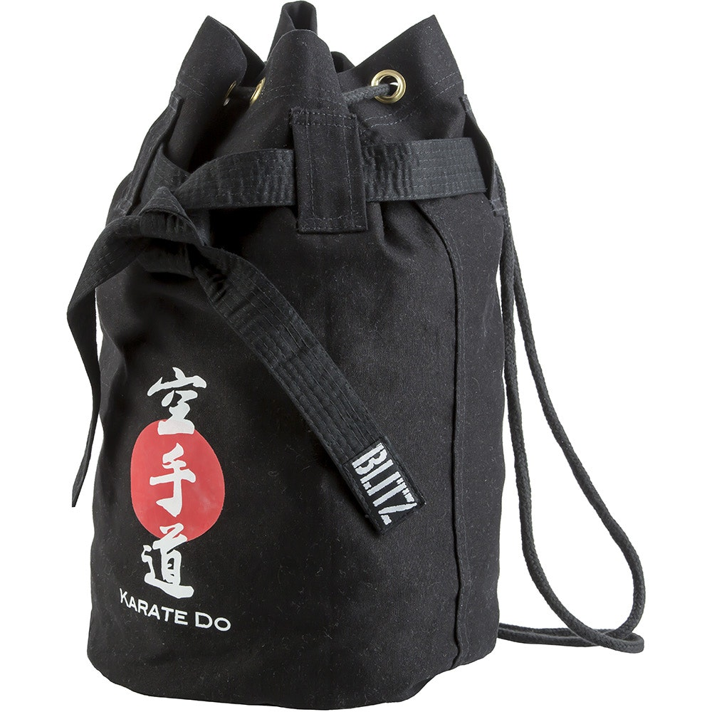 Karate Discipline Duffle Bag - Black