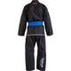 Kids Badbreed Mata Leao BJJ Gi in Black - Rear