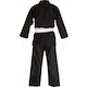 Kids Cotton Student Judo Suit in Black - Rear
