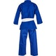 Kids Cotton Student Judo Suit in Blue - Rear