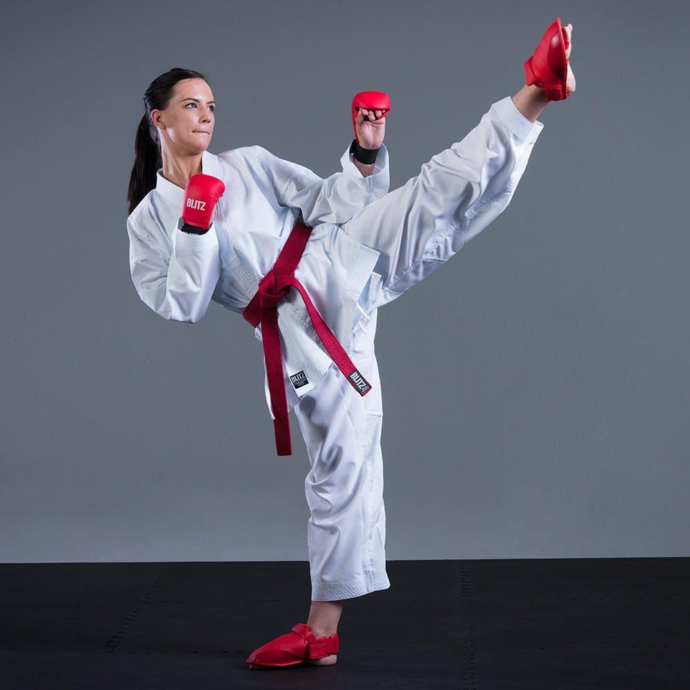 Blitz Kids Fighter Lite Karate Suit 8oz