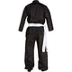 Kids Kung Fu Suit in Black - Rear