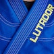 Kids Lutador Brazilian Jiu Jitsu Gi in Blue - Detail 1