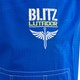 Kids Lutador Brazilian Jiu Jitsu Gi in Blue - Detail 6