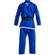 Kids Lutador Brazilian Jiu Jitsu Gi in Blue - Rear