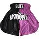 Kids Muay Thai Shorts - Pink / Black