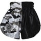 Kids Muay Thai Shorts in Urban Camo / Black - Rear