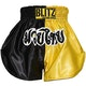Kids Muay Thai Shorts - Yellow / Black