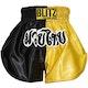 Kids Muay Thai Shorts - Yellow / Black