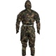 Kids Ninja Suit in Camouflage - Back
