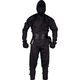 Kids 8oz Ninja Suit - Black