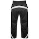 Kids Polycotton Elite Full Contact Trousers in Black / White - Rear