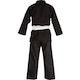 Kids Polycotton Student Judo Suit 350g in Black - Back