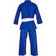 Kids Polycotton Student Judo Suit 350g in Blue - Back