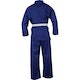 Kids Polycotton Student Karate Suit in Blue - Rear