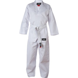 Kids Polycotton V-Neck Suit