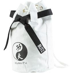 Kung Fu Discipline Duffle Bag - White