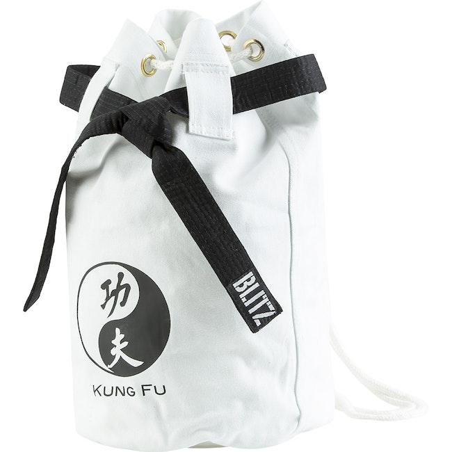 Blitz Kung Fu Discipline Duffle Bag - White