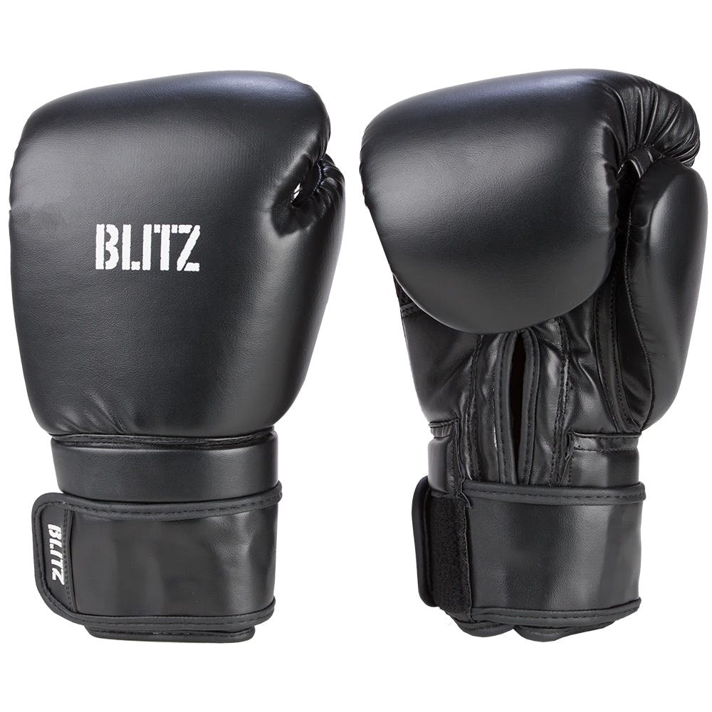 Head Multi Sport Gloves With Sensatec Black Large: Blitz Omega Boxing Gloves
