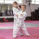 Polycotton Lightweight 10oz Judo Suit in White - Lifestyle