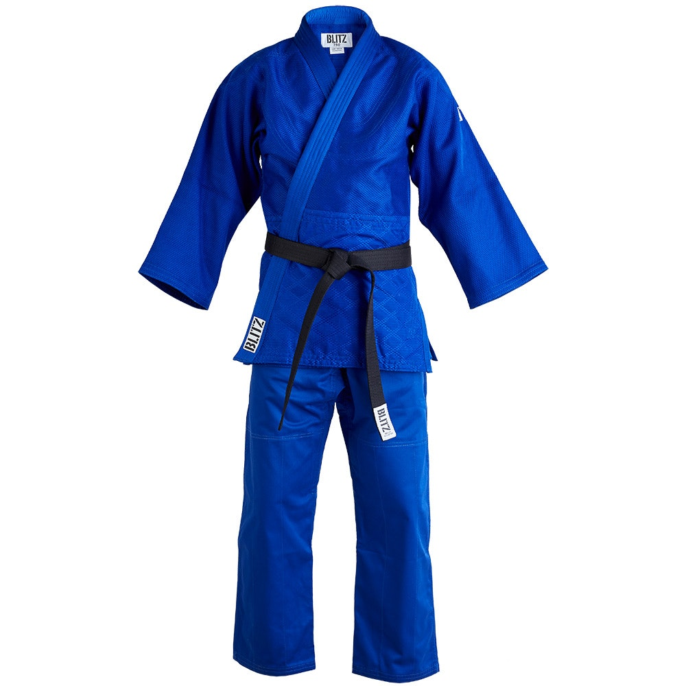 Polycotton Master Heavyweight Judo Suit - Blue - 750gsm